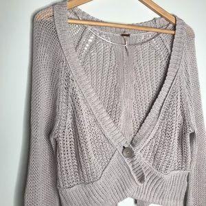 Free People Light Cardigan Sweater